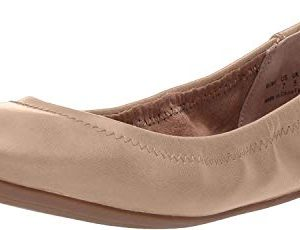 Amazon Essentials Womens Ballet Flat, Nude, 7.5 B US